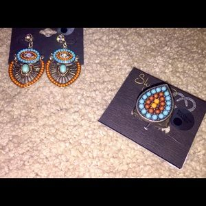 ❤️💋NWT. GORGEOUS Ring & Earring Set.  By Shyanne